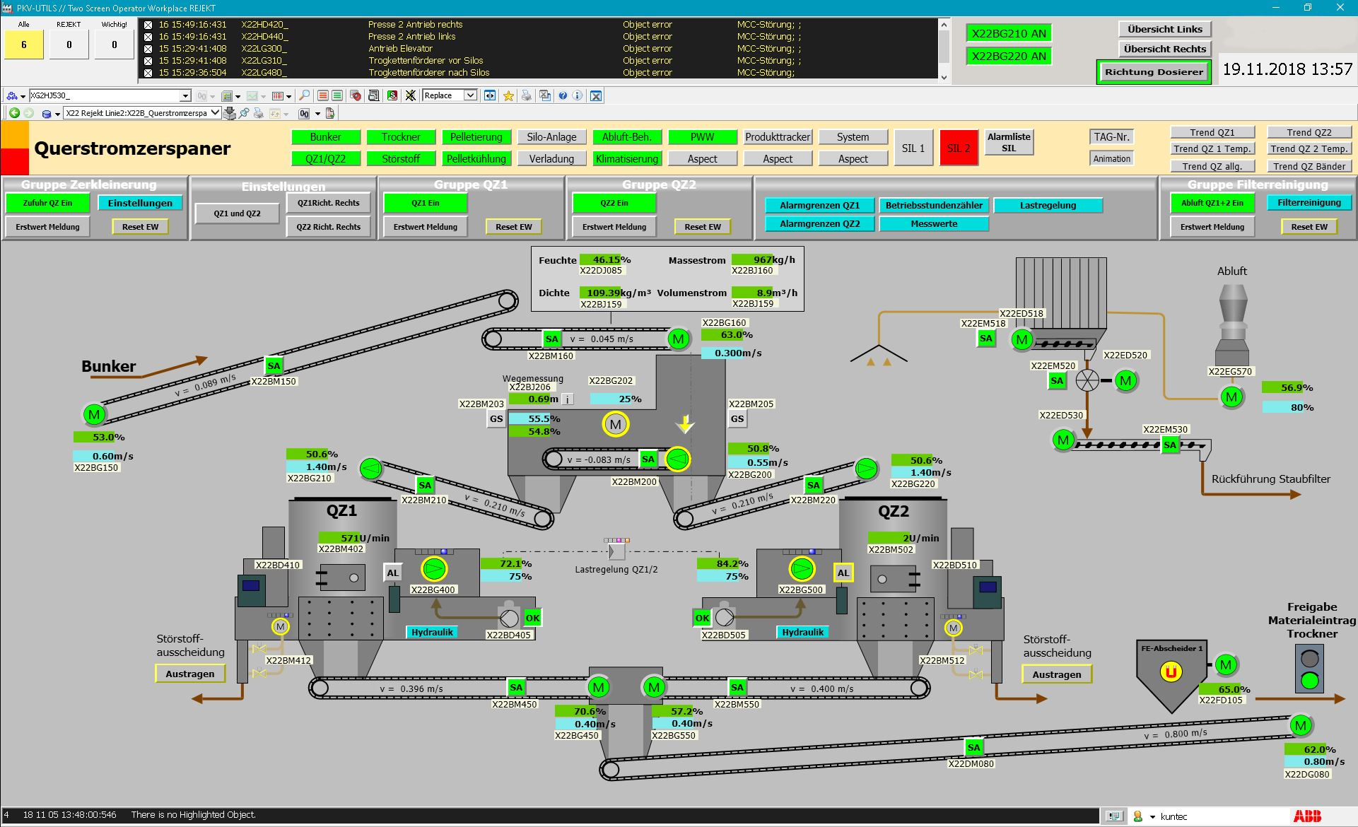 ABB user interface